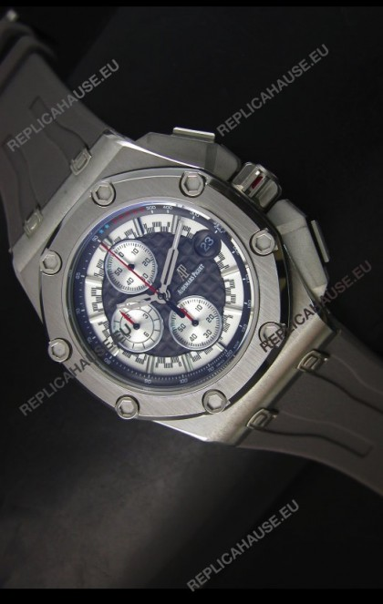 Audemars Piguet Royal Oak Offshore Michael Schumacher Quartz Movement Watch in Grey