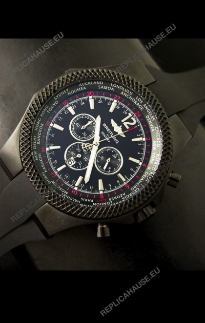 Breitling Bentley Japanese Replica Watch in Grey Dial