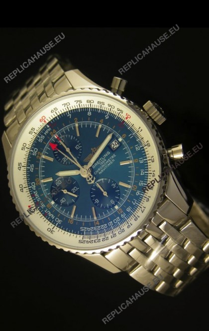 Breitling Navitimer World GMT - 1:1 Mirror Ultimate Edition Blue Dial