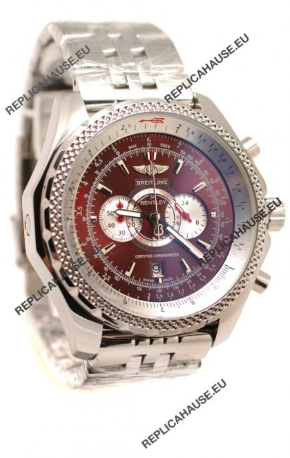 Breitling For Bentley Supersports Japanese Replica Watch in Brown Dial
