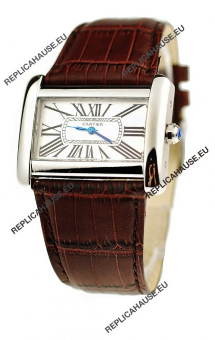 Cartier Tank Divan Japanese Replica Watch