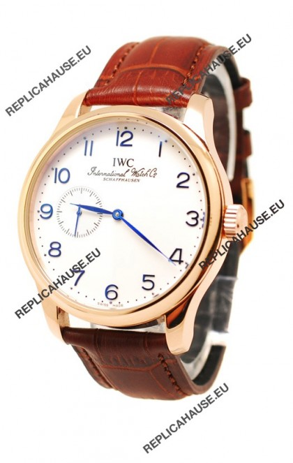 IWC Portugese Automatic Gold Replica Watch