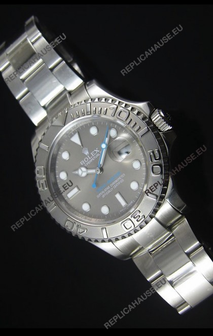 Rolex Yachtmaster Grey Dial 1:1 Swiss Replica Watch