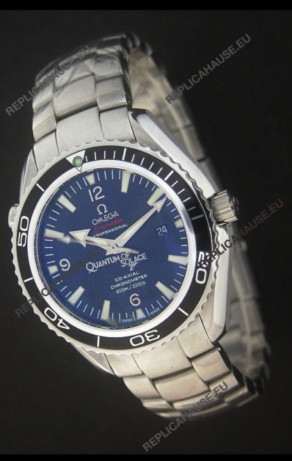 Omega Seamaster Quantum of Solace in Black Dial