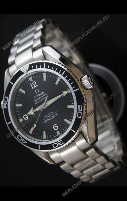 Omega Seamaster Planet Ocean Watch in Black Dial - Swiss Quality Casing