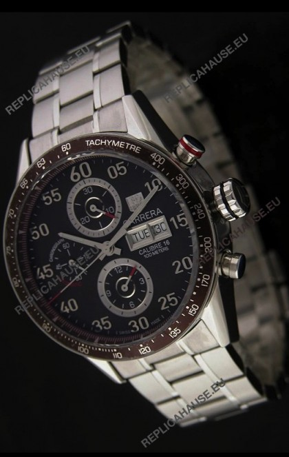 Tag Heuer Carrera Calibre 16Japanese Watch in Brown Dial