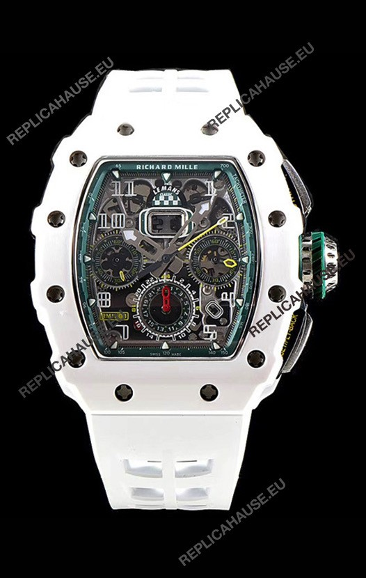 Richard Mille RM11-03 Le Mans Classic Ceramic Replica Watch