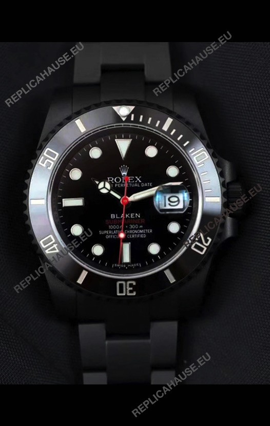Rolex Submariner BLAKEN SINGLE RED 1:1 Mirror Edition Swiss Replica Watch