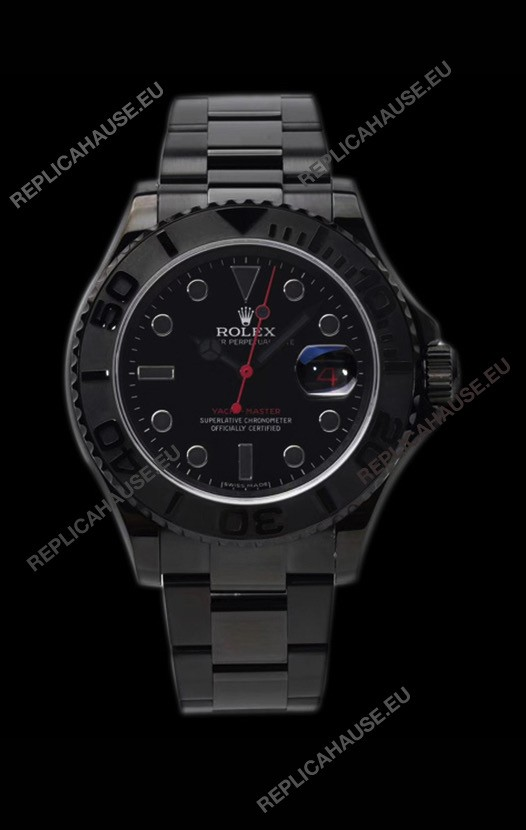 Rolex Yachtmaster Blackout Edition 1:1 Swiss Replica Watch