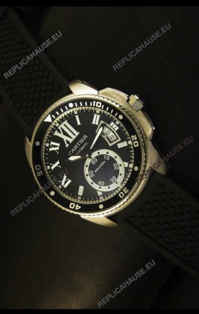 Calibre De Cartier 43MM in Top Grade Japanese Movement