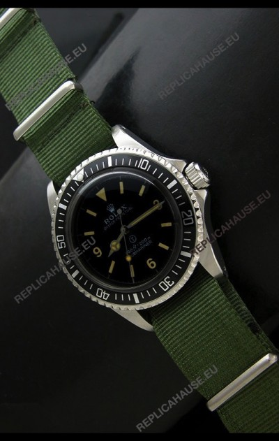 Rolex Submariner Oyster Perpertual Military Swiss Watch