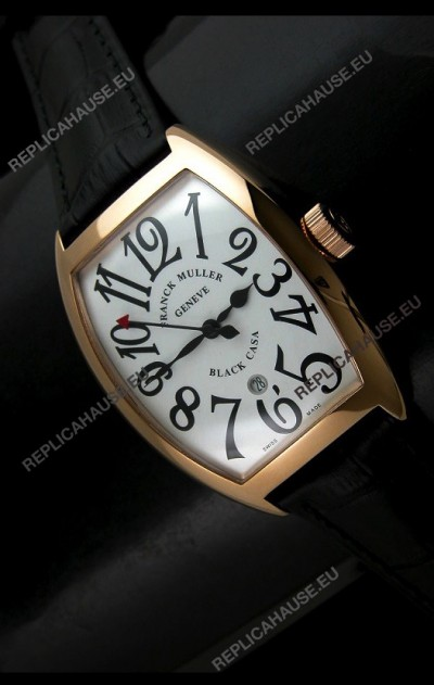 Franck Muller Geneve Casablanca Japanese Rose Gold Watch