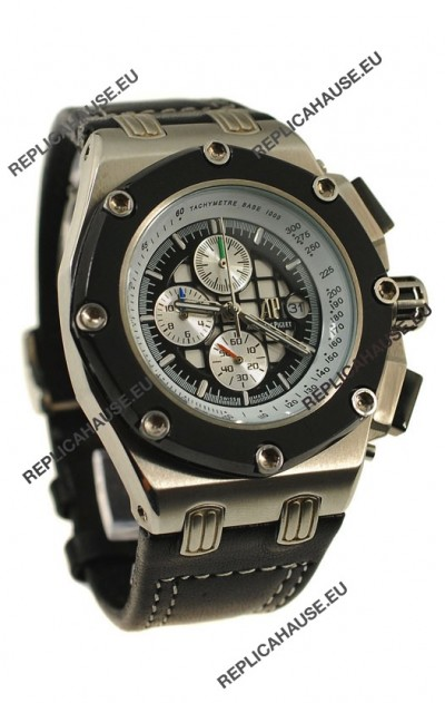 Audemars Piguet Royal Oak Offshore Rubens Barrichello Watch in Ceramic Bezel