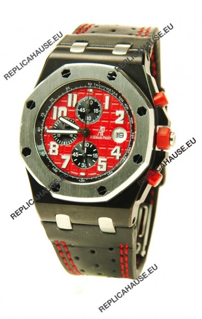 Audemars Piguet Royal Oak Offshore End of Days Japanese Watch in Red Dial