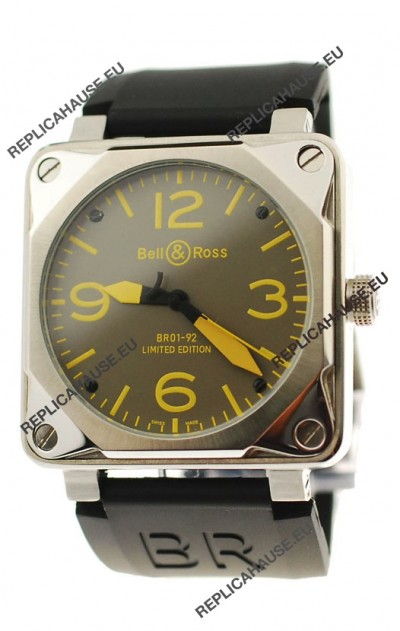 Bell and Ross BR01-92 Limited Edition Japanese Steel Watch