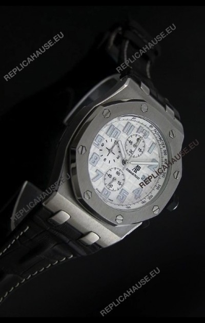 Audemars Piguet Royal Oak Japanese Watch in White Dial