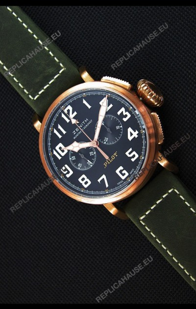Zenith Pilot Type 20 Chronograph - Extra Special 45MM Swiss Replica Watch