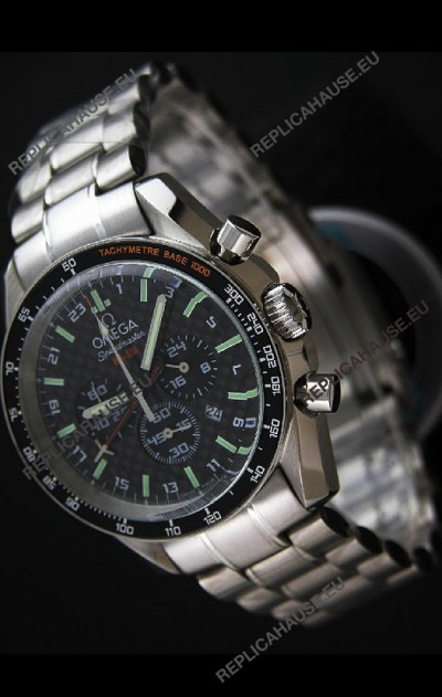 Omega Speedmaster HB-SIA Watch in Black Checked Dial